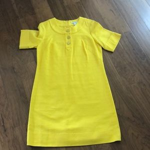 NWT! Banana Republic Factory Yellow Dress